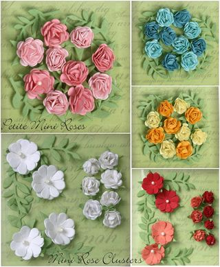 Mini roses and clusters