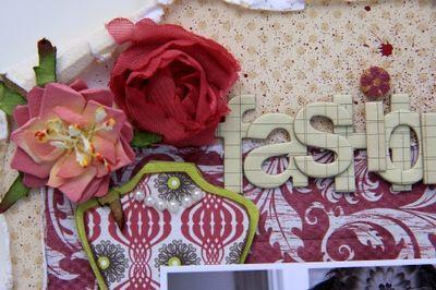 Fashionista close-up
