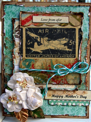 Happy mother's day card for petaloo
