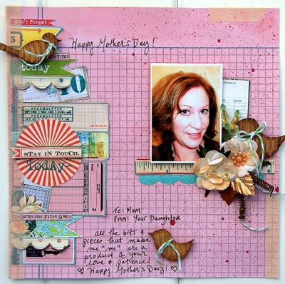 Happy Mother's Day Layout for Petaloo