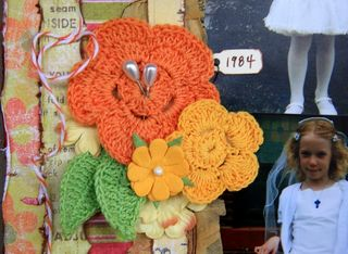 Handmade for petaloo crocheted flowers