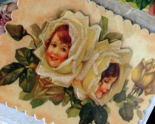 Little girls vintage dazzlers