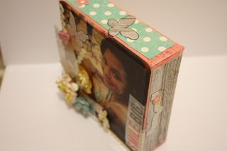 Denise Hahn Petaloo and Simple Stories Vintage Bliss Projects - 10