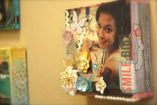 Denise Hahn Petaloo and Simple Stories Vintage Bliss Projects - 13