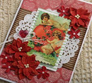 V day card RED petite