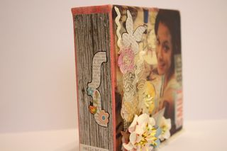 Denise Hahn Petaloo and Simple Stories Vintage Bliss Projects - 09