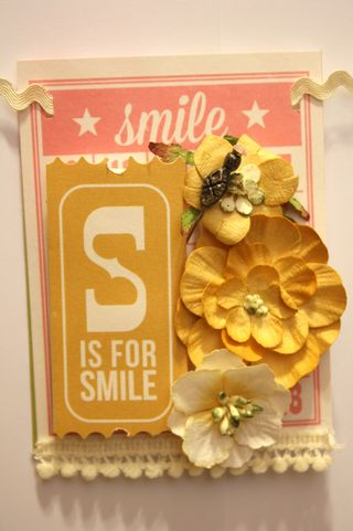 Denise Hahn Petaloo and Simple Stories Vintage Bliss Projects - 15