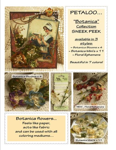 Botanica Flowers  SNEEK Peek XMAS 2013 FINAL