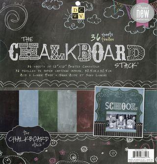 Chalkboard papers