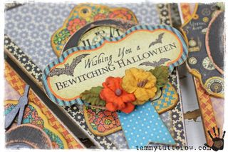 Tammytutterow tutorial | Boo Banner 1