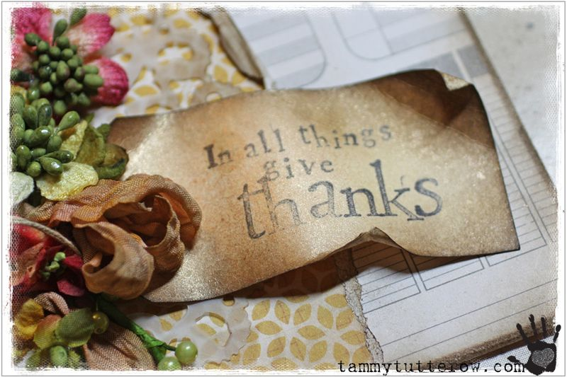 Tammy Tutterow Tutorial | Give Thanks featuring Petaloo 1