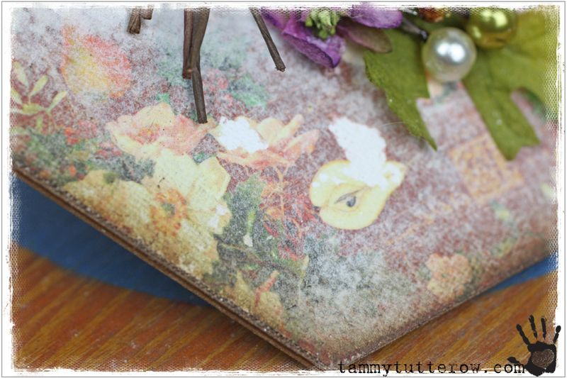 Tammy Tutterow Tutorial | Seasons Greetings Canvas featuring Petaloo 25