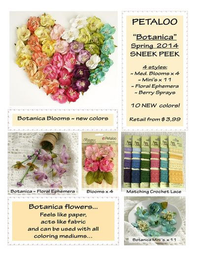 Botanica Flowers  ~ SNEEK Peek SPRING - 2  2014 jpeg