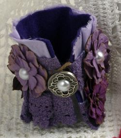BEAUTY Purple Cuff