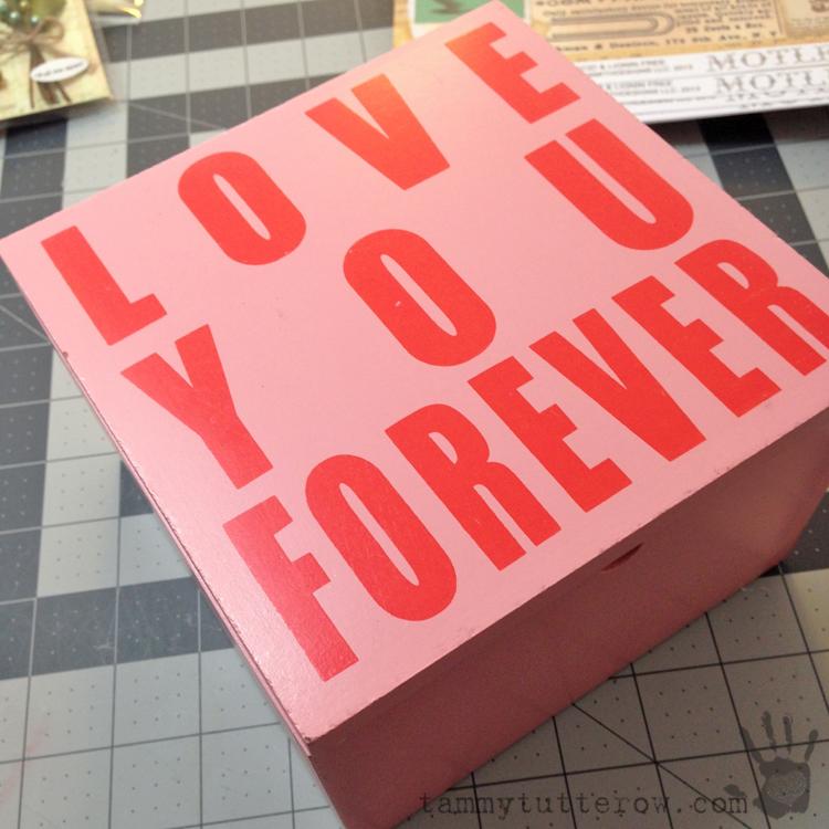 Tammy Tutterow   Mother's Day Trinket Box for Petaloo 1
