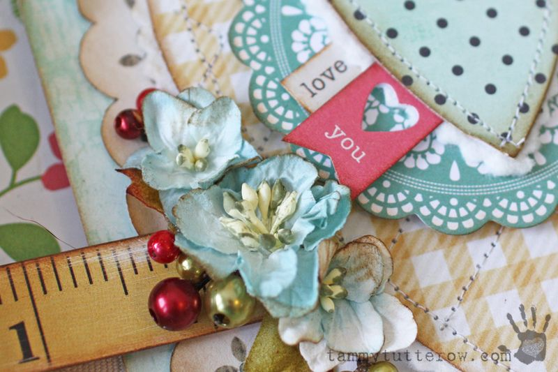 Petaloo Simple Stories | Love You Shadowbox by Tammy Tutterow 1