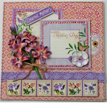 BEAUTY Velvet Lilac Card smaller