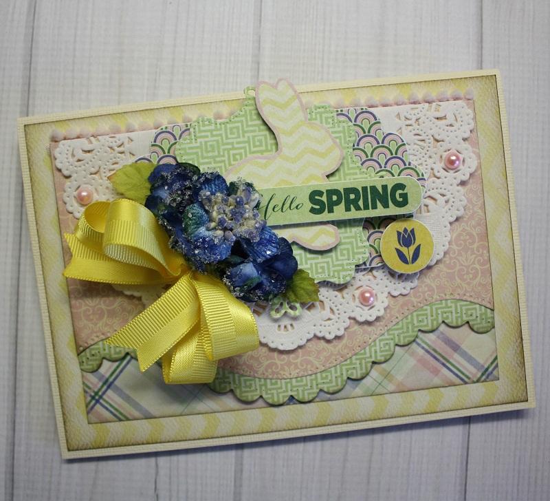 Shellye McDaniel-Hello Spring Card1