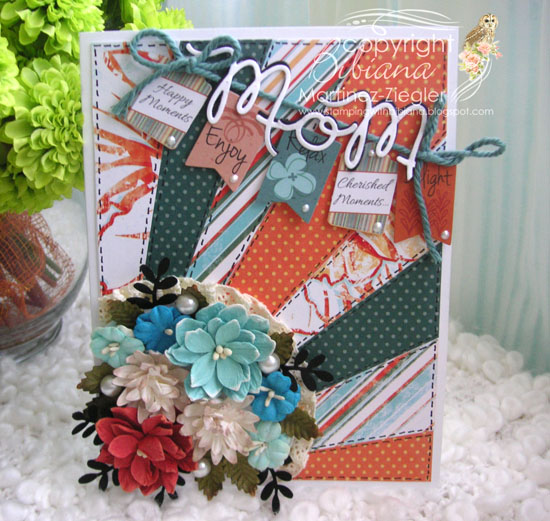 Diagonal gift mom front