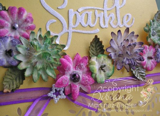 Flowers paintables detail 2