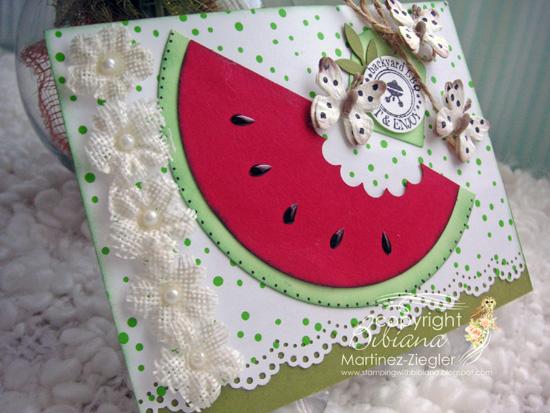 Watermelon side