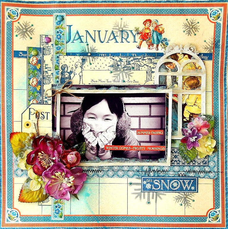 Let It Snow Layout by Irene Tan 01