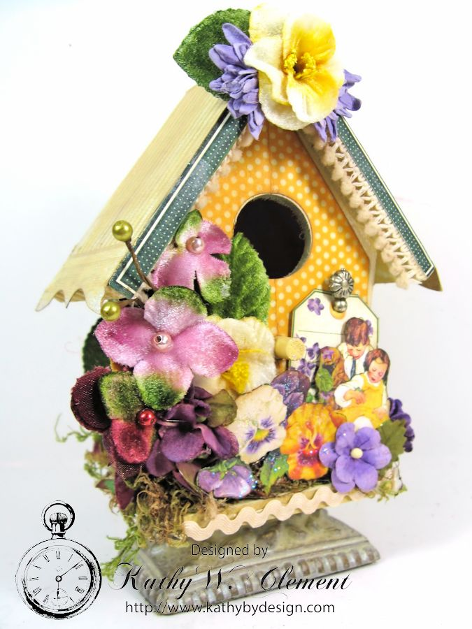 Petaloo Bird House 02