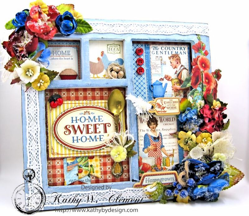 Home Sweet Home Mother's Day Frame Petaloo 02