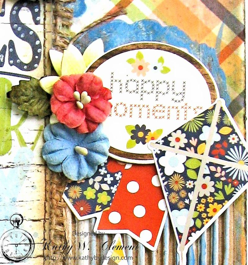Porch Rules Altered Clipboard by Kathy Clement Petall Simple Stories Blog Hop Bloom and Grow 06
