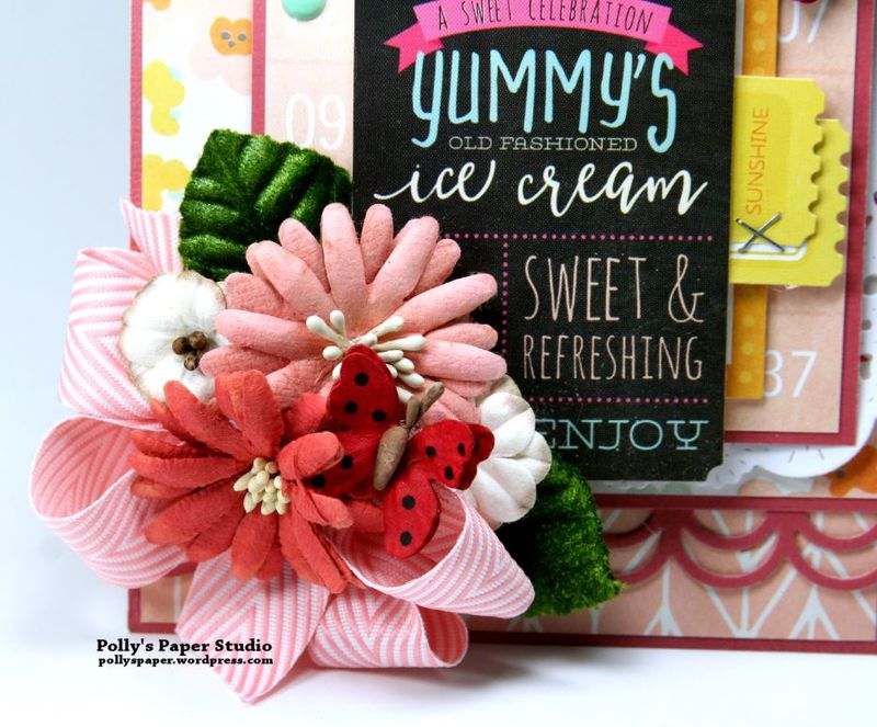 Yummy Ice Cream Tag Simple Stories Petaloo 2