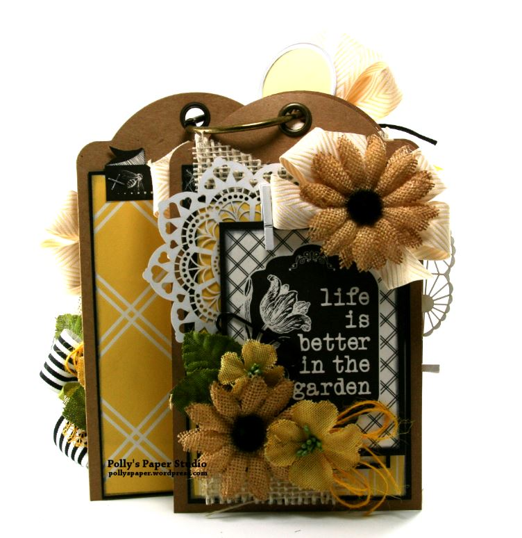 Born to Garden Crate with Tags Petaloo Canvas Corp 7