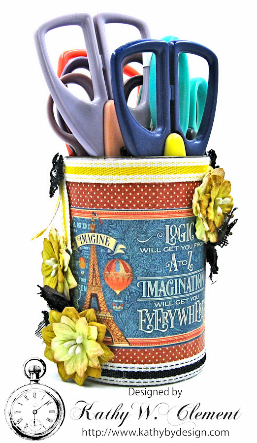 Back to School Desk Set for Petaloo International by Kathy Clement, Graphic 45 World's Fair, Photo 9