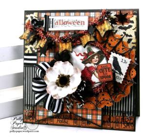 Halloween card Ginny N