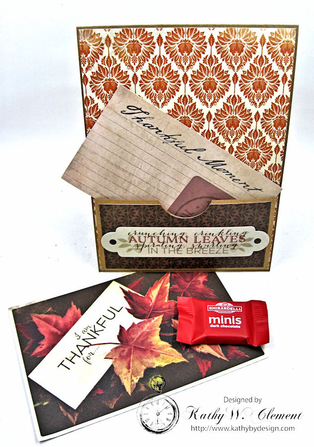 Thankful Card, Harvest, by Kathy Clement, Product by Authentique, Photo 8