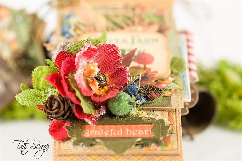 Tati, Celebrate Fall Note Book, Petaloo, Photo 3