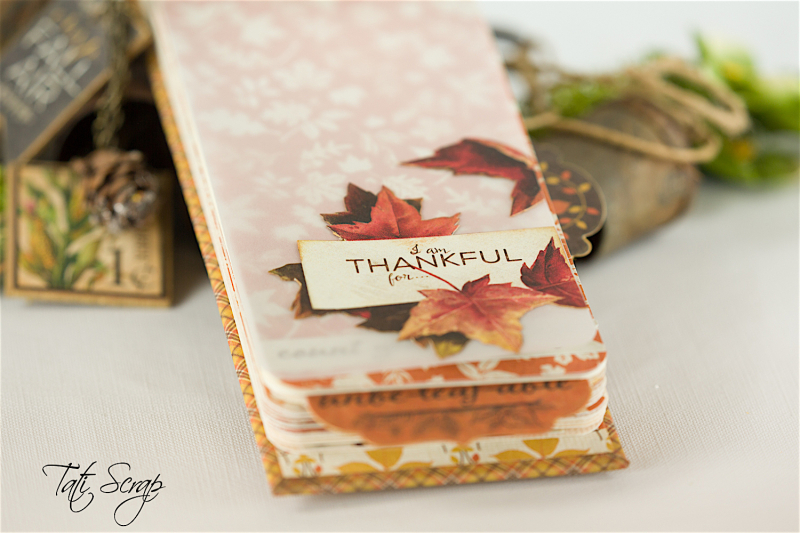 Tati, Celebrate Fall Note Book, Petaloo, Photo 6