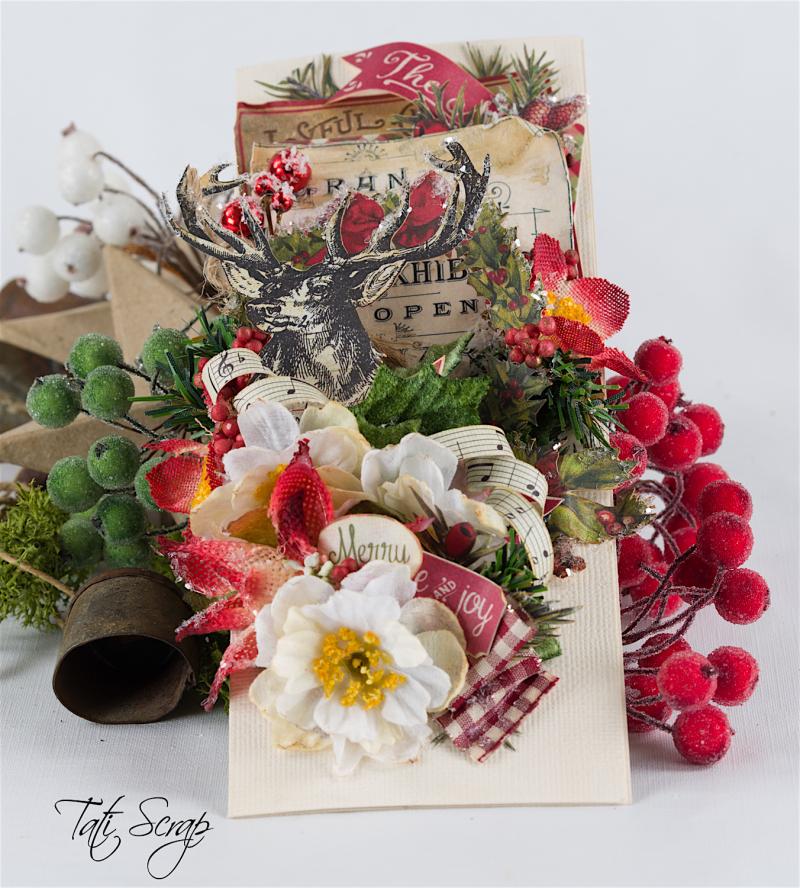 Tati, Christmas card, Petaloo, Authentique Blog Hop,Photo 1