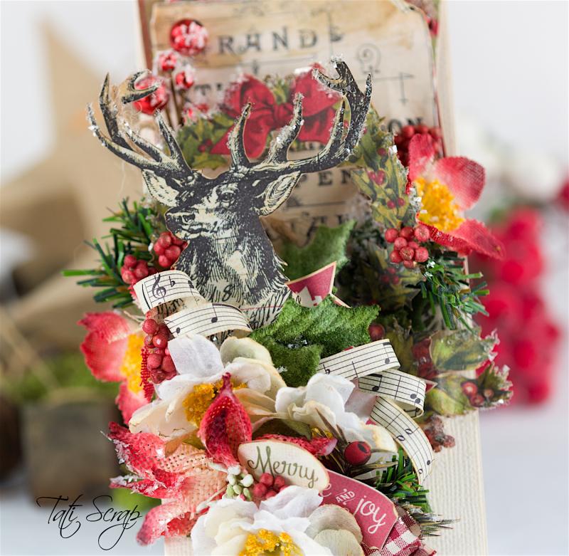 Tati, Christmas card, Petaloo, Authentique Blog Hop,Photo 3