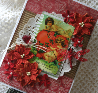Red valentine card