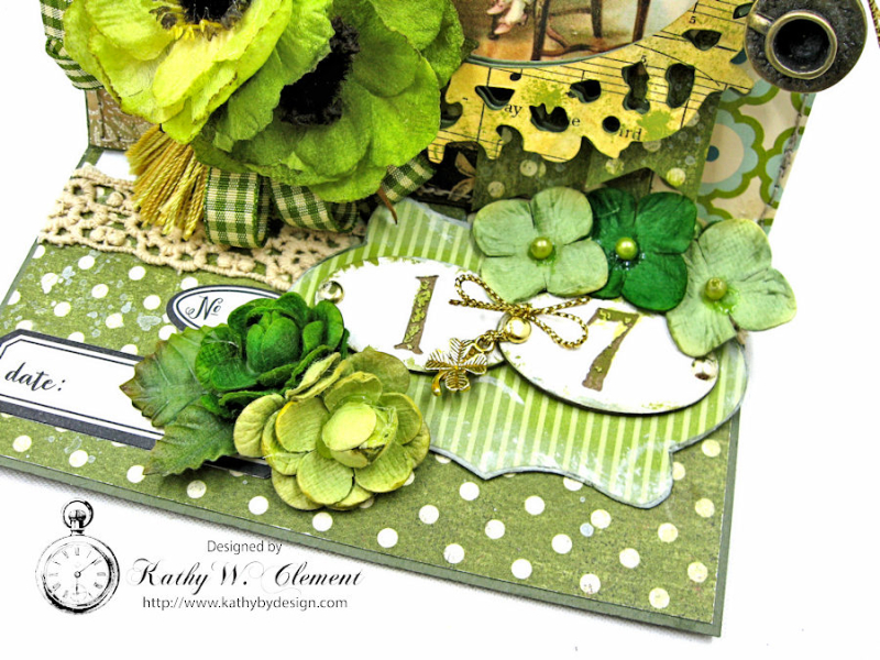 St Patricks Day Easel Card by Kathy Clement for Petaloo International Photo 6  jpg
