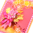 May Pink Flowers card small close7
