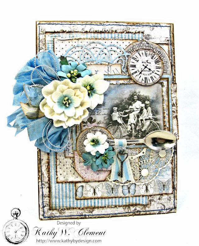 Shabby Chic Gift Folio by Kathy Clement for Petaloo by Floracraft Maja Design Spotlight  Photo 1