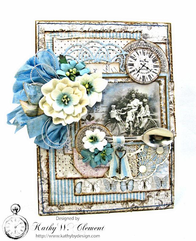 Shabby Chic Gift Folio by Kathy Clement for Petaloo by Floracraft Maja Design Spotlight  Photo 1