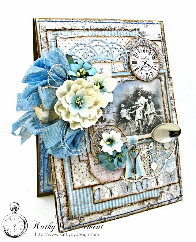 Shabby Chic Gift Folio by Kathy Clement for Petaloo by Floracraft Maja Design Spotlight  Photo 3