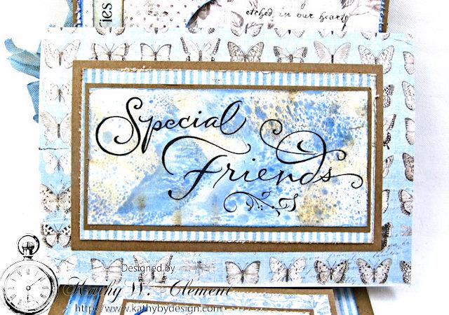 Shabby Chic Gift Folio by Kathy Clement for Petaloo by Floracraft Maja Design Spotlight  Photo 7