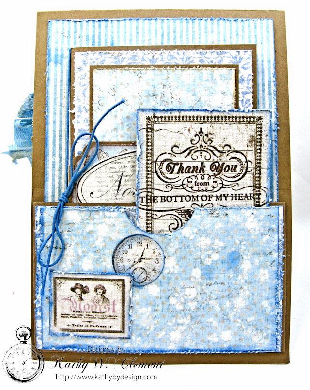 Shabby Chic Gift Folio by Kathy Clement for Petaloo by Floracraft Maja Design Spotlight  Photo 9
