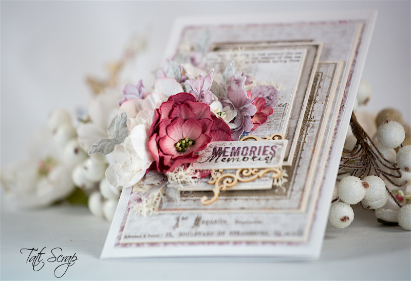 Tati  Memories card  Petaloo & Maja Design  Photo 2
