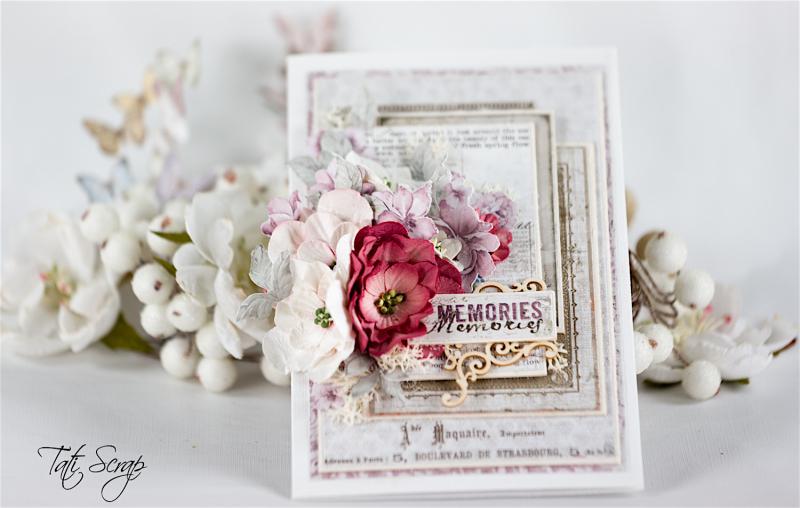 Tati  Memories card  Petaloo & Maja Design  Photo 2