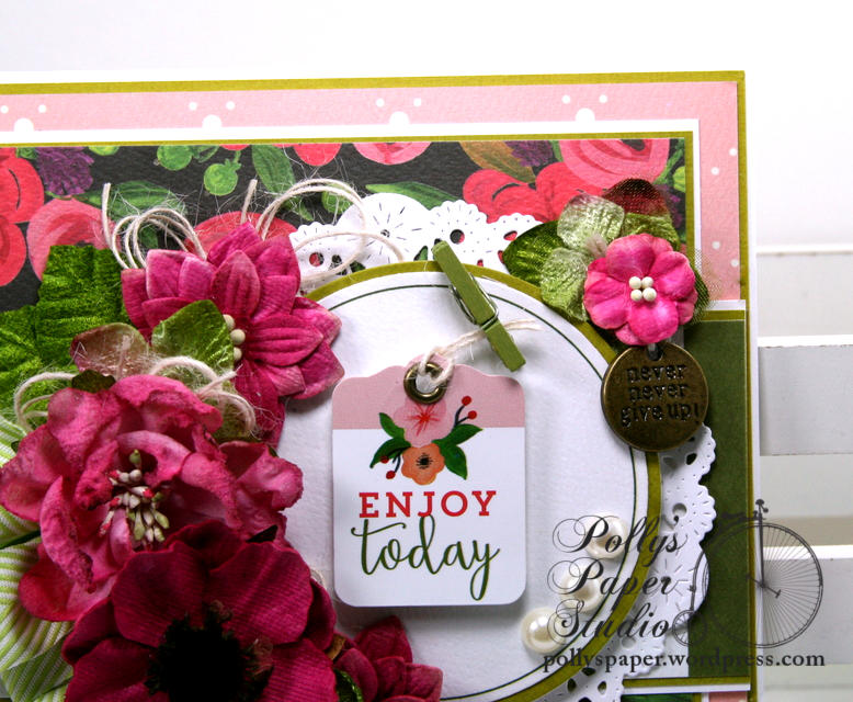 Enjoy Today All Occasion Greeting Card Polly's Paper Studio 04