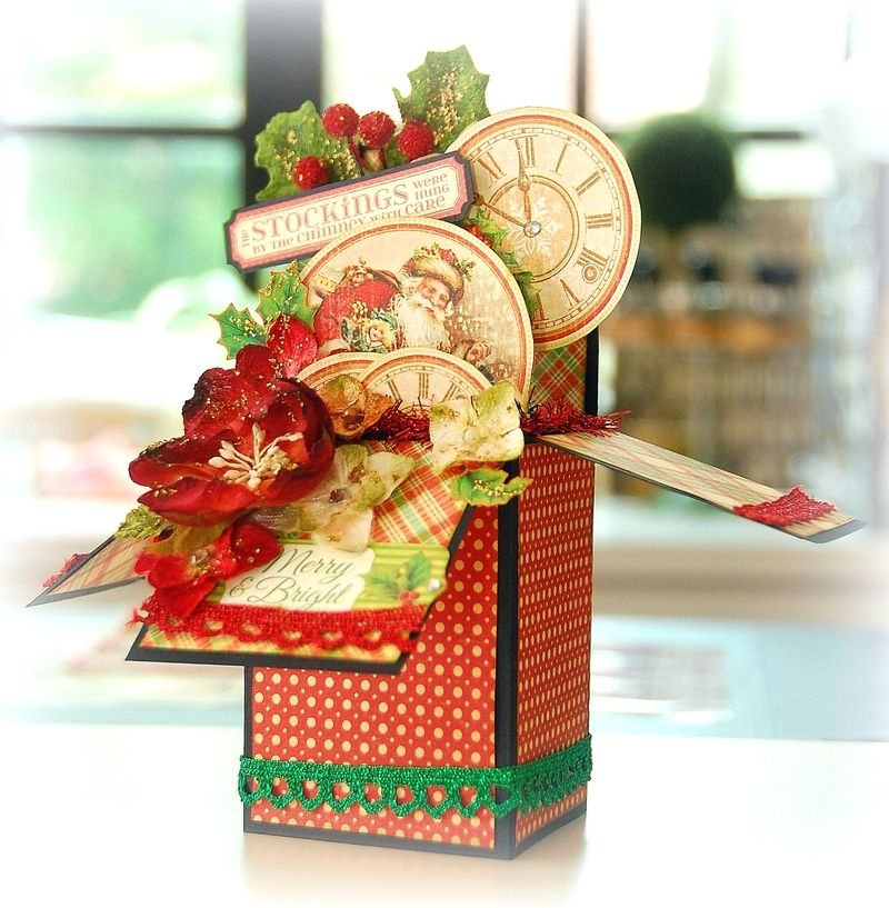 Merry and Bright Box Card by Irene Tan1